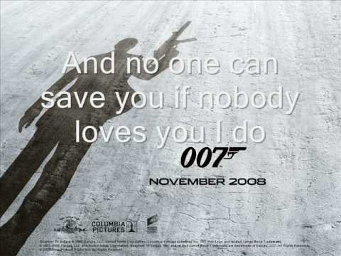 Quantum of Solace VG Theme song with Lyrics