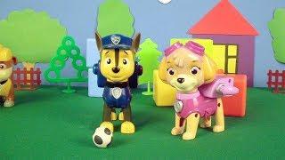 #PawPatrol oyuncaklarıyla futbol oynuyoruz ⚽
