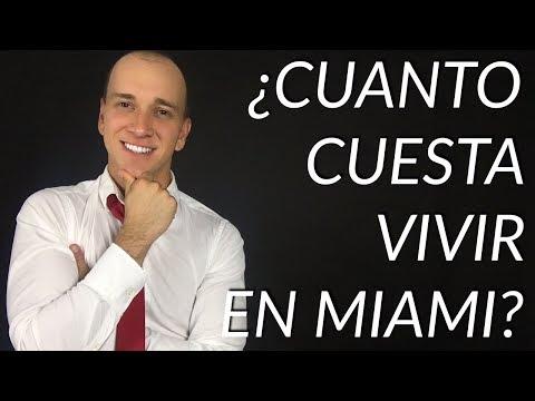 ¿Cuánto cuesta vivir en Miami? // Vivir en Estados Unidos # 17