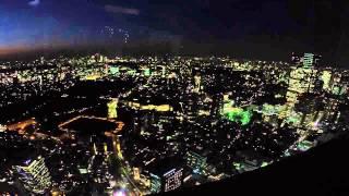 Quick Tokyo Skyline Timelapse