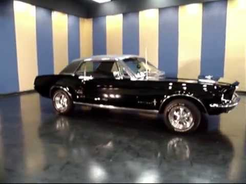 """*SOLD* 1968 Mustang Coupe """"Black Magic"""" - YouTube1968 Mustang Coupe Black"""