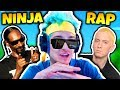 NINJA FREESTYLE RAPPING ON STREAM | Fortnite Daily Funny Moments Ep.26