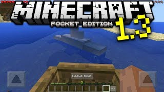 MINECRAFT 1.3 CONFIRMED FEATURES - The Update Aquatic - Minecraft Pocket Edition