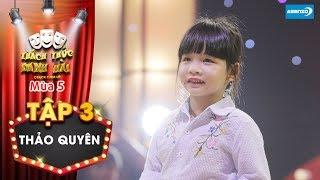 Thách thức danh hài 5| Tập 3: Trường Giang, Trấn Thành thích thú khi cô bé dùng chiêu hối lộ cao tay