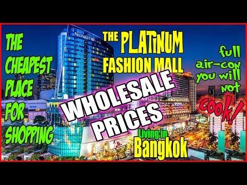 YOU MUST GO AND SHOP at The Platinum Mall Bangkok (เดอะแพลทินัมมอลล์กรุงเทพ)
