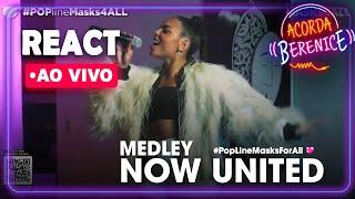 Baixar REACT AO VIVO: Reagindo a Any Gabrielly do Now United no #POPlineMask4ALL