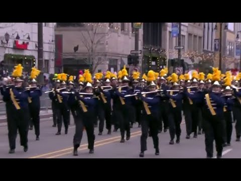 Northern Marching Band of Port Huron Northern High school delivers stellar performance