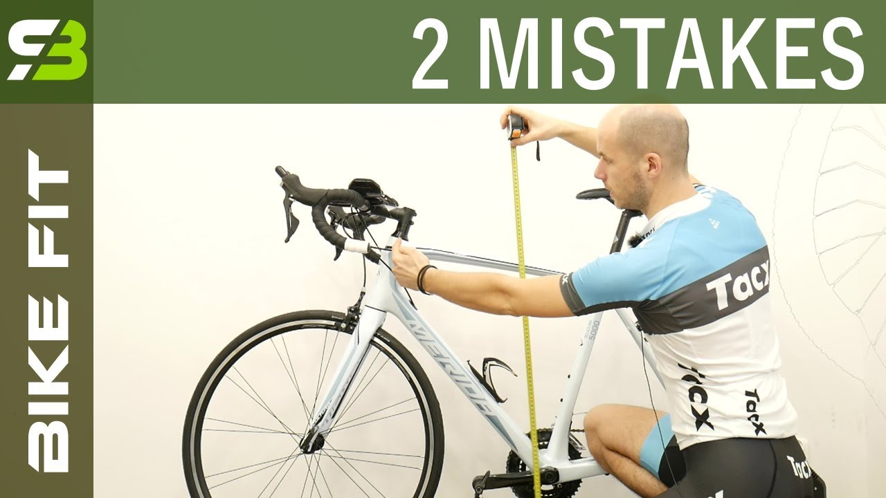 2 Biggest Mistakes In Finding The OPTIMAL Bike Frame Size. - YouTube