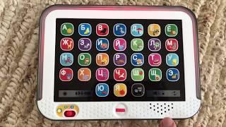 Обзор детских развивающих игрушек. Планшет для детей Fisher Price Smart Stages