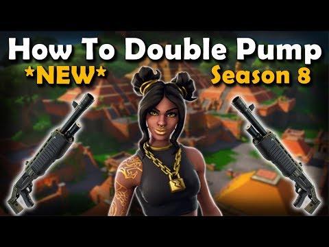 *NEW* How To Double Pump In Season 8! (Fortnite) | VonHooli