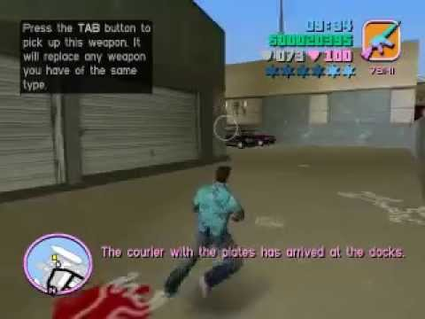 GTA: Vice City - Hit the Courier