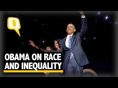 The Quint: Obama Bids Farewell, Says Race Still a Divisive Force in Society
