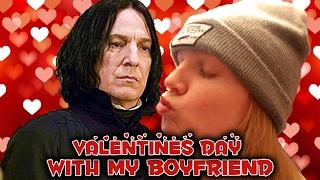 Valentines Day With My Boyfriend (Snape)