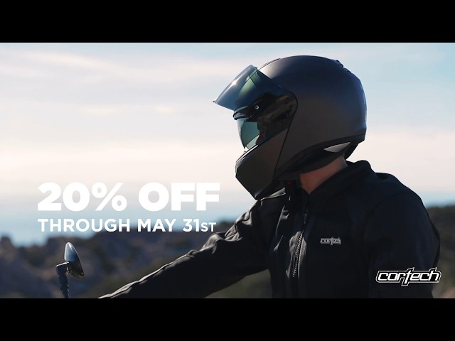 Cortech Spring Sale - 20% Off Now Through May 31st, 2019