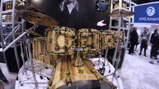 NAMM 2016 - IRON MAIDEN's NICKO MCBRAIN And Sonor Drums | GEAR GODS