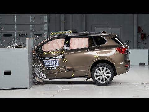2016 Buick Envision Small Overlap IIHS Crash Test