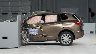 2016 Buick Envision driver-side small overlap IIHS crash test
