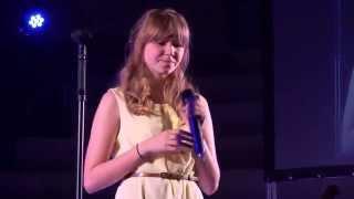 OH SO QUIET – BJORK performed by LAURA ROBINSON at TeenStar singing contest