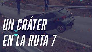 CRÁTER en la RUTA 7 - Macri MACHIRULO - Murió CACHO CASTAÑA - #FlashChat