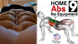 постер к видео 9 abdos workout  Home Excersice