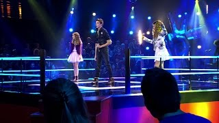 Camille, Aaron & Anneleen - 'Mamma Mia' | Battle | The Voice Kids | VTM
