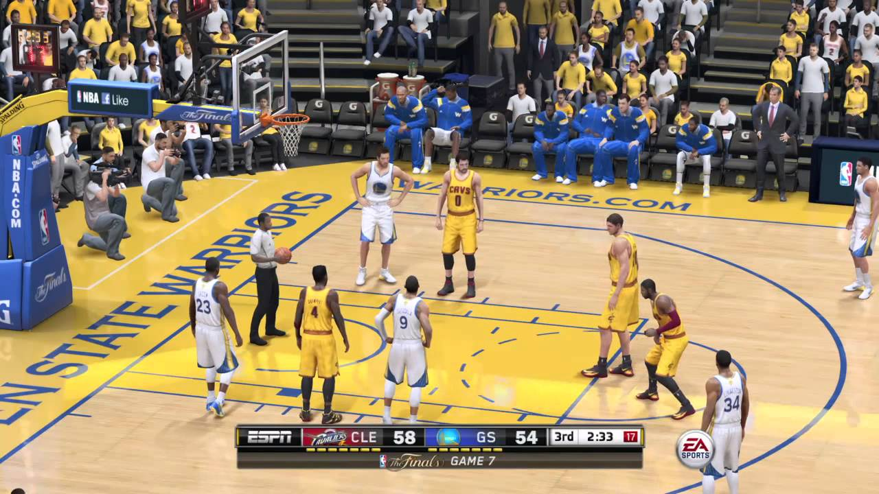 NBA LIVE Finals 2015 - Cleveland Cavaliers vs Golden State ...
