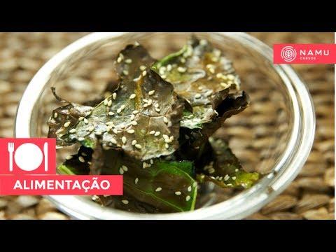 Receita de couve chips   Rodrigo Albano