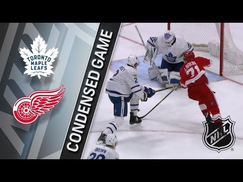 Toronto Maple Leafs vs Detroit Red Wings – Dec. 15, 2017 | Game Highlights | NHL 2017/18.Обзор матча