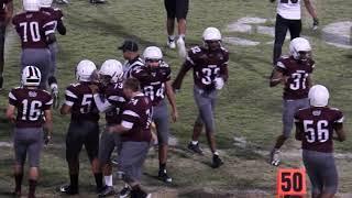 Faith Lutheran JV Football vs Cimarron JV Clip 1