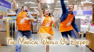 The Magical World Of Depot (home Depot Disney Parody)