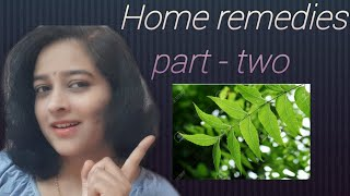 Home remedies for Backache,Bad Breath,Bed Wetting,Blood in Urine,Burning Urine,Burns & Chickenpox.