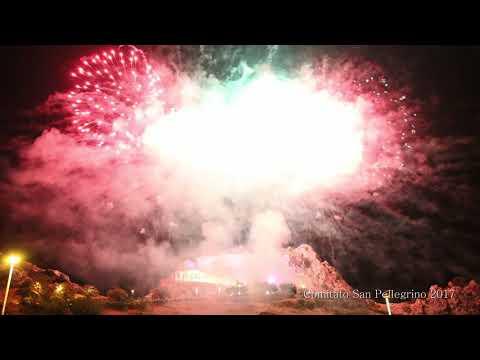 San pellegrino 2017 - Caltabellotta - Giochi Pirotecnici