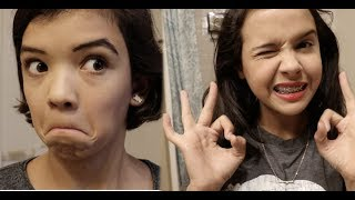 High School vs Middle School Makeup | Who wore it Best?