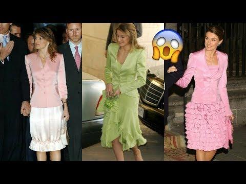 9a30146b1 Los looks más feos de la Reina Letizia - YouTube