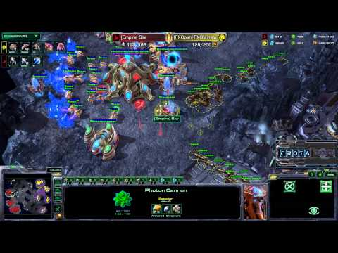 Siw (P) vs Minato (Z)  G2 - StarCraft 2 - HotS090
