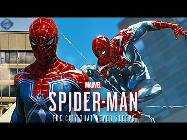 Spider-Man PS4 - Resilient Suit Free Roam Gameplay!