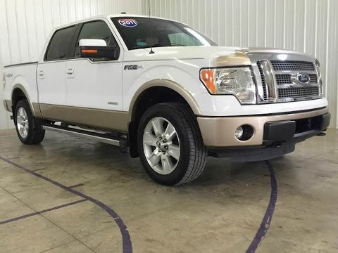 2012 ford f 150 lariat 4x4 4dr supercrew youtube. Black Bedroom Furniture Sets. Home Design Ideas