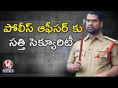 Bithiri Sathi As Security To Akun Sabharwal - Under Pressure Comments In Drugs Case || Teenmaar News