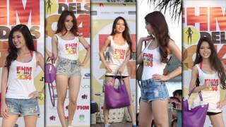 FHM Models 2014 Finals At Azzura, Sentosa!