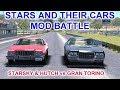 Stars & their Cars | MOD Battle | Starsky & Hutch vs Gran Torino (The Movie)