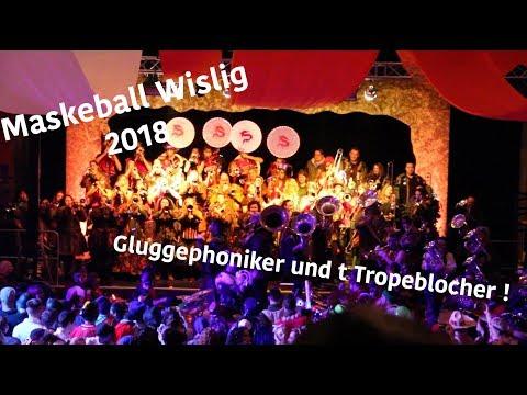 Glunggephoniker und Tropeblocher- Treat her right - Maskeball Wislig