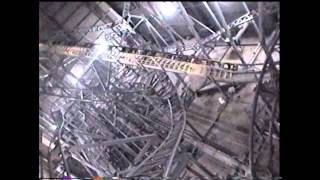 Runaway Mountain Roller Coaster Lights On Front Seat POV Six Flags Over Texas 1999