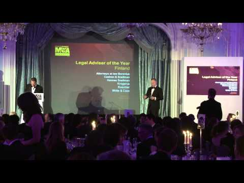 Hannes Snellman - Finland Legal Adviser of the Year