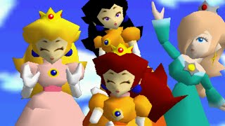 super mario 64 bloopers: princessy day off