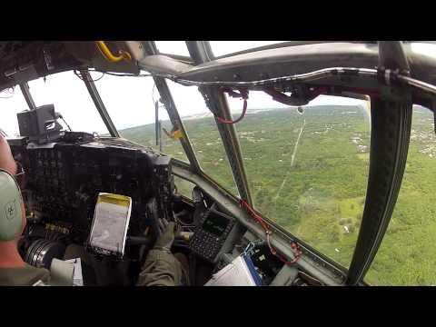 Landing in Guam