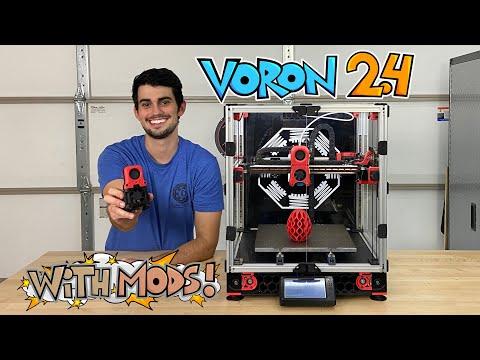 Building an Epic DIY 3D Printer: Voron 2.4 with Mods!