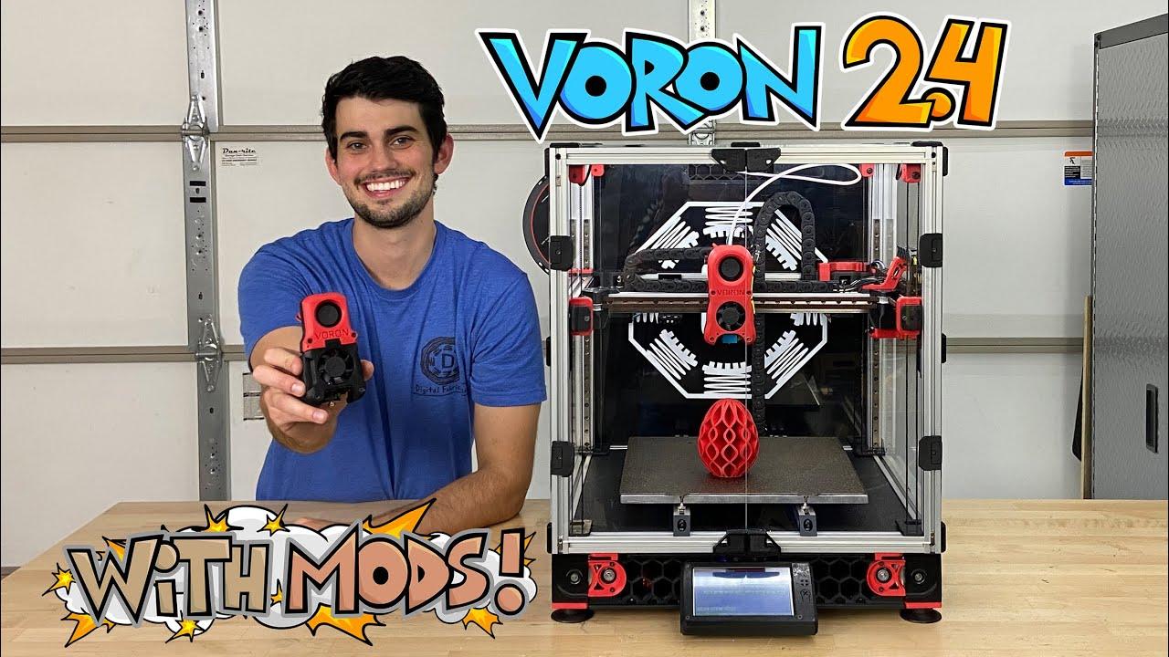 Download Building an Epic DIY 3D Printer: Voron 2.4 with Mods!