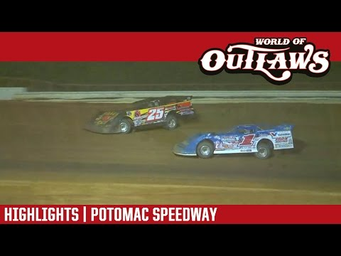 World of Outlaws Craftsman Late Models Potomac Speedway August 12th, 2016 | HIGHLIGHTS