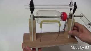 Friction electrostatic generator 2