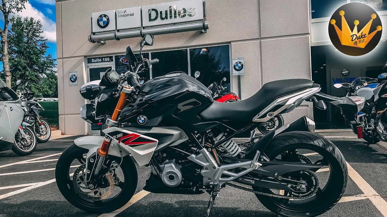 2018 BMW G 310 R | First Ride & Review - YouTube